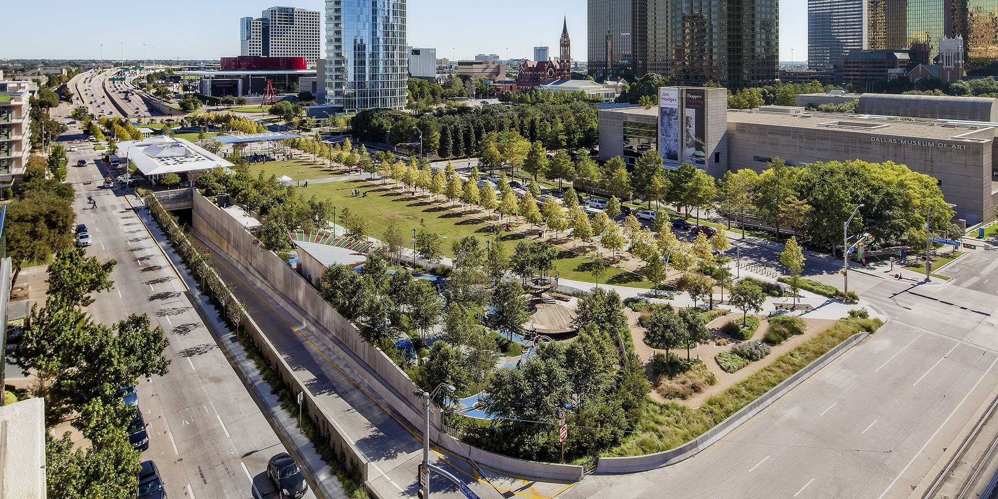 Klyde Warren Park Texan By Nature