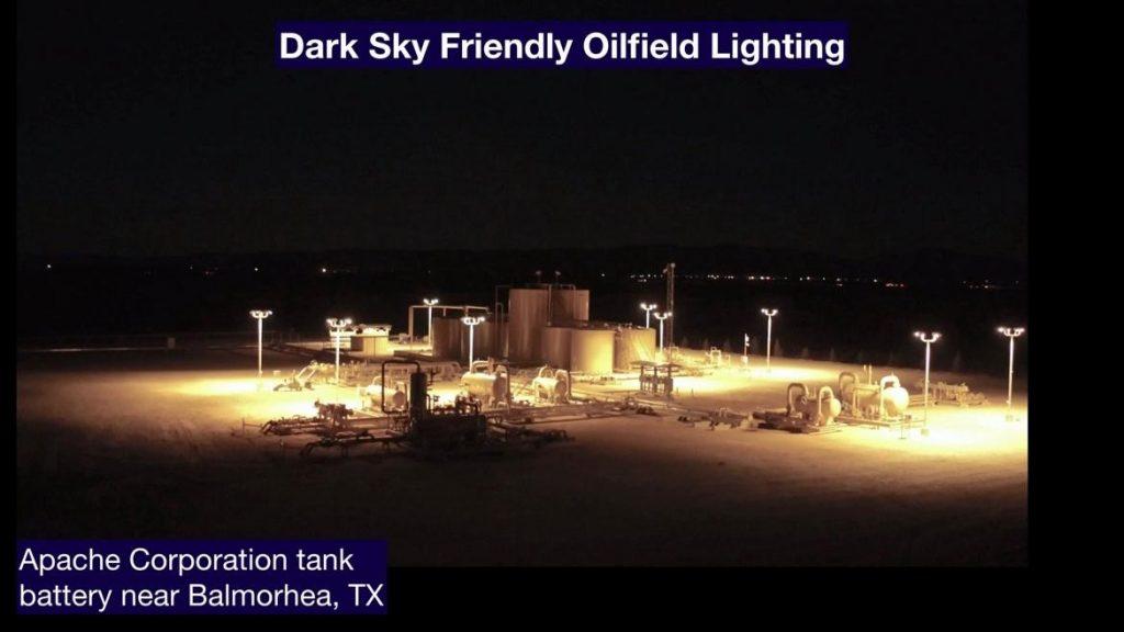 Dark Sky Friendly Oilfield Lighting