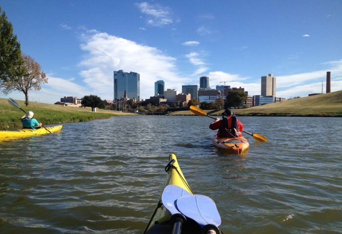 trinity river paddling trail