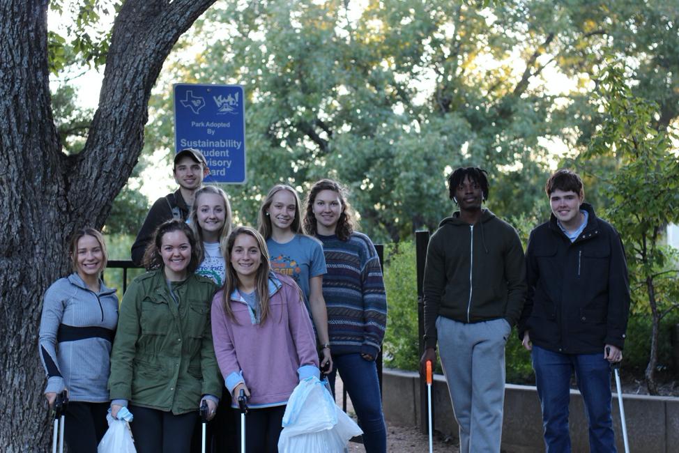 Baylor University's Sustainability Student Advisory Board