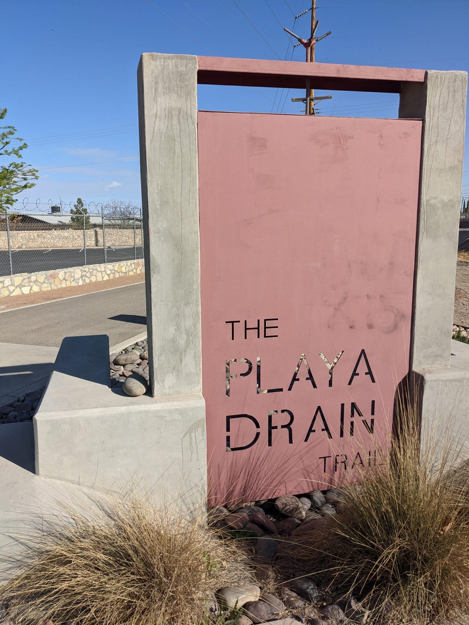 Paso del Norte Playa Drain Trail