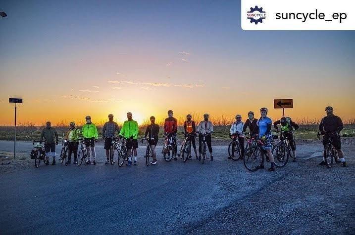 Suncycle group photo