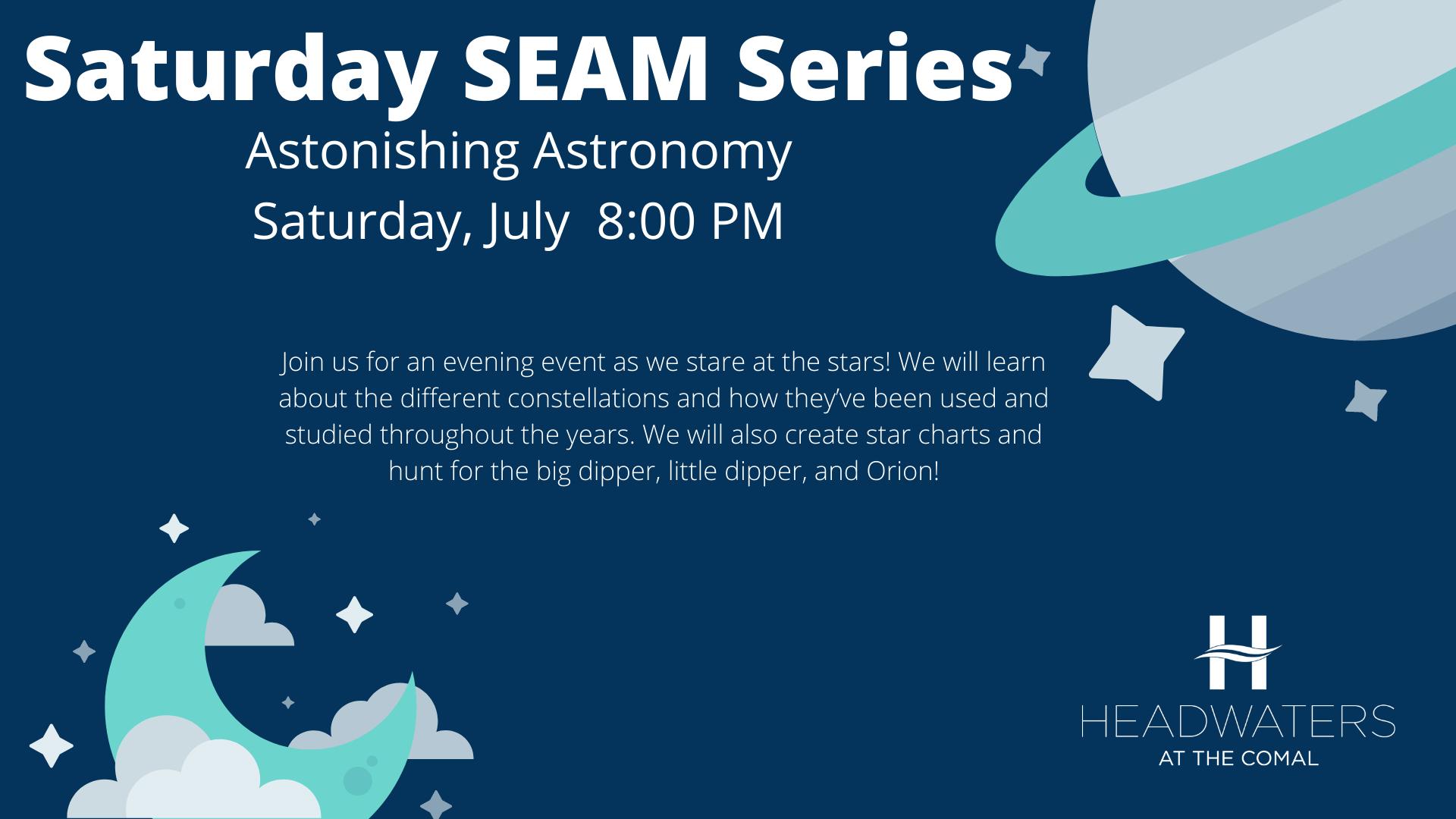 Saturday SEAM Series