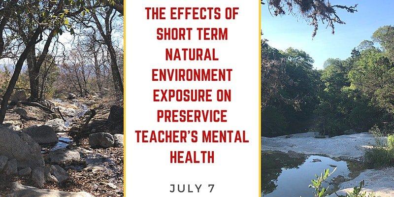 Texas Children in Nature Preservice Teachers