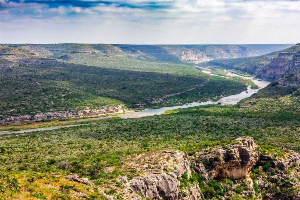 The Pecos River